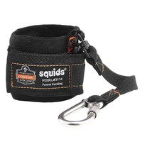Ergodyne Squids 3114 Pull-On Wrist Lanyard with Carabiner
