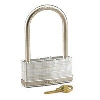 Master Lock Wide Laminated Steel Pin Tumbler Padlock